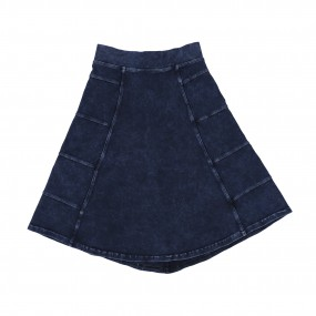 Hard Tail Light Denim Wash Circle Skirt